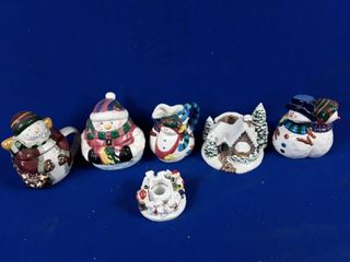 lot To Include Christmas Figurine  Beer Stein