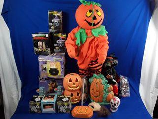 large Halloween lot