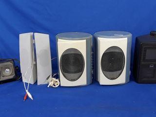 6 Speaker s lansing Altech Sony And Pair Of