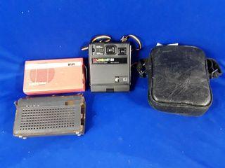 Kodak colorburst 50 camera and Sony transistor 6