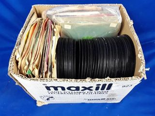 lot Of Assorted 45s Records