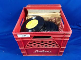 Crate Of Assorted Records Various Artists