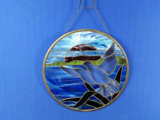 Stained Glass Hanging Picture