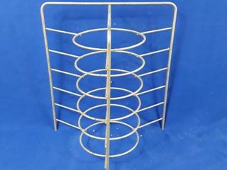 Pie plate stand