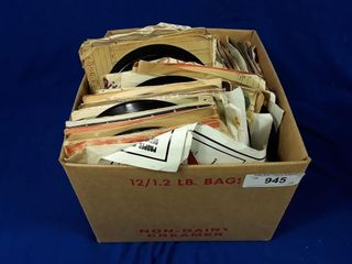 lot of assorted 45s records various artists