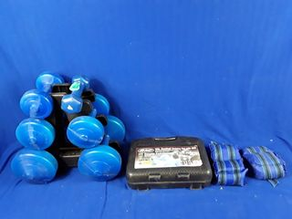 lot of excersise weights