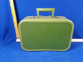 little Vintage Travel Suitcase With Keys