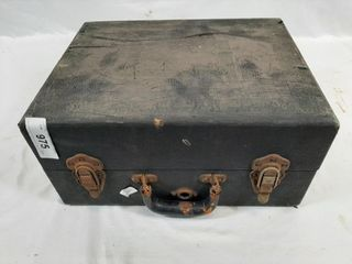 Antique portable turntable