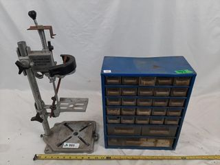 Canadian Tire drill press stand and hardware