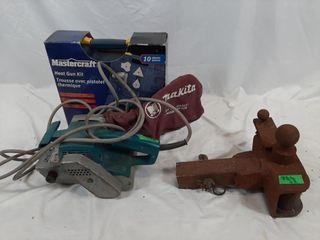 Unopened Mastercraft heat gun kit  working Makita