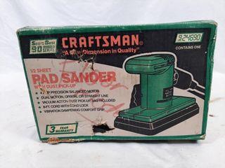 Craftsman sander  tested and works