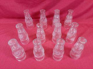 24 NHl 75th anniversary Coca Cola glasses