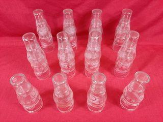 32 NHl 75th anniversary Coca Cola glasses