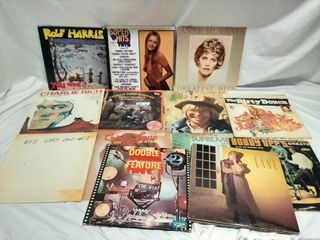 Record lot poor to good condition