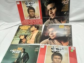 Charley pride records  Poor to good condition