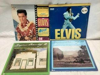 Elvis and country records  Good to fair condition