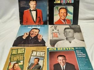 Jim reeves records  Good to poor condition