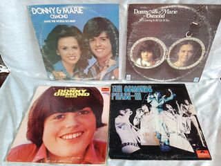 Donny And Marie Osmond Record Albums Good To Poor