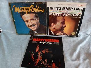 Marty Robbins Record Albums Fair To Poor