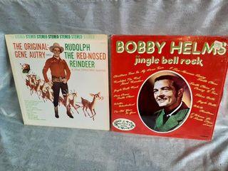 Christmas Albums Good To Fair Condition