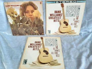Hank William s Records  Fair Condition