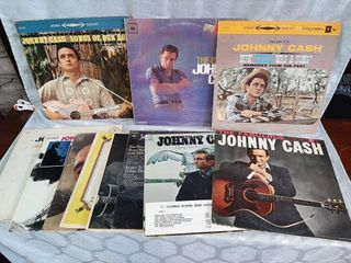 Johnny Cash Records  Good To Poor Condition