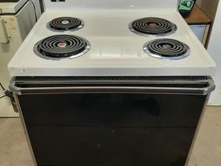 Vintage admiral electric stove