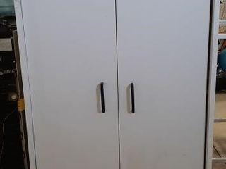 White press board cabinet