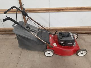 Briggs And Stratton Push Mower With Mulch Bag