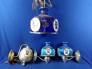 Decorative plastic beer lights pbast Blu ribbon