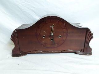 Mantel clock no front glass  Parts Clock