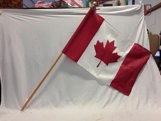 Canadian flag on Pole