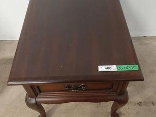 Solid Mahogany Gibbard side table