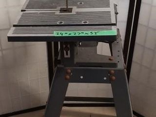 Craftsman 10  motorized band saw  tested and