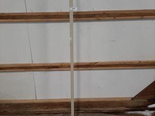Tall coat rack