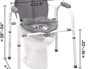 MEDPRO DEFENSE COMFORT PlUS COMMODE