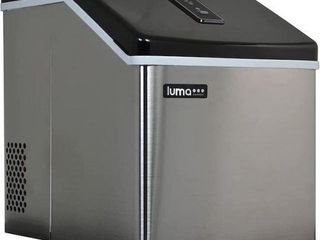 lUMA STAIlESS STEEl IM200SS PORTABlE ICE MAKER