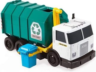 MATCHBOX GARBAGE TRUCK lARGE TOY