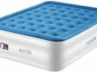 TIlVIEW HIGH RAISED AIR BED  71 X 38 X 18 5
