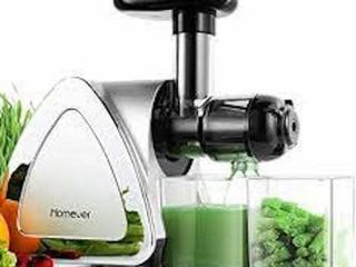 HOMEVER lOW SPEED MASTICATING JUICER EXTRACTOR