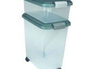 IRIS USA AIRTIGHT PET GOOD STORAGE CONTAINER