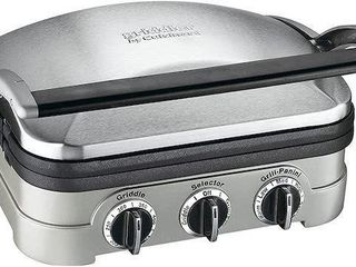 CUISINART 5 IN 1 GRIDDlER