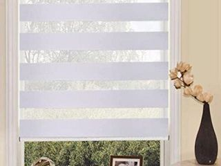 WINSHARP ZEBRA DOUBlE SHADE  17 7 X 59 INCHES