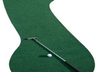 PUTT A BOUT 2 WAY PUTTING MAT 3  X 10