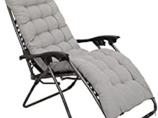ZERO GRAVITY CHAISE lOUNGE CHAIR WITH GRAY