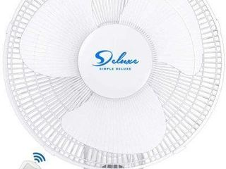 SIMPlE DElUXE 16IN WAll FAN