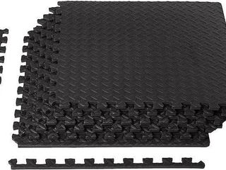 6 PCS AMAZONBASIC EXERCISE MAT WITH FOAM