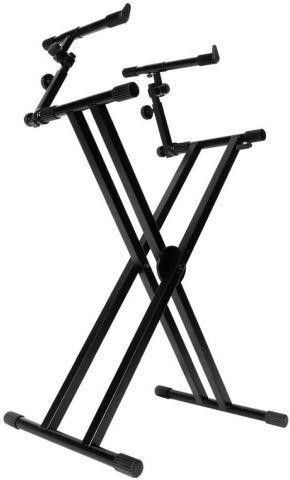 ON STAGE KS7292 DOUBlE ERGO lOK KEYBOARD STAND