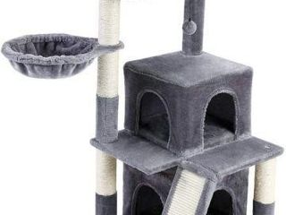 PAWZ ROAD CAT TREE CONDO AMT0053GY APROX 41 IN