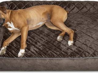 FURHAVEN PET DOG BED DElUXE GOlIATH